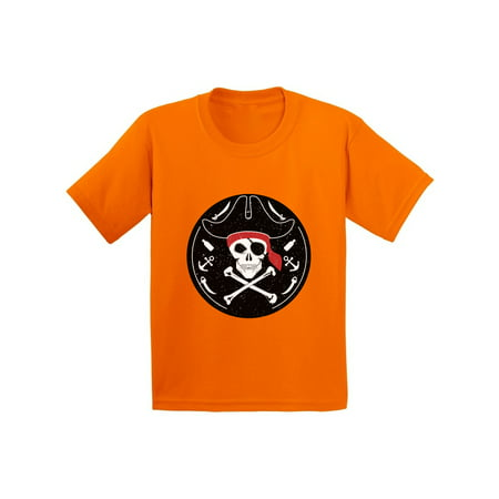 Awkward Styles Jolly Roger Tshirt for Kids Pirate Skull Shirt Jolly Roger Skull T Shirt Dia de los Muertos Gifts for Kids Day of the Dead Shirt Pirate Skull Flag Shirt Pirate Birthday Costume Shirt](Day Of The Dead Birthday)