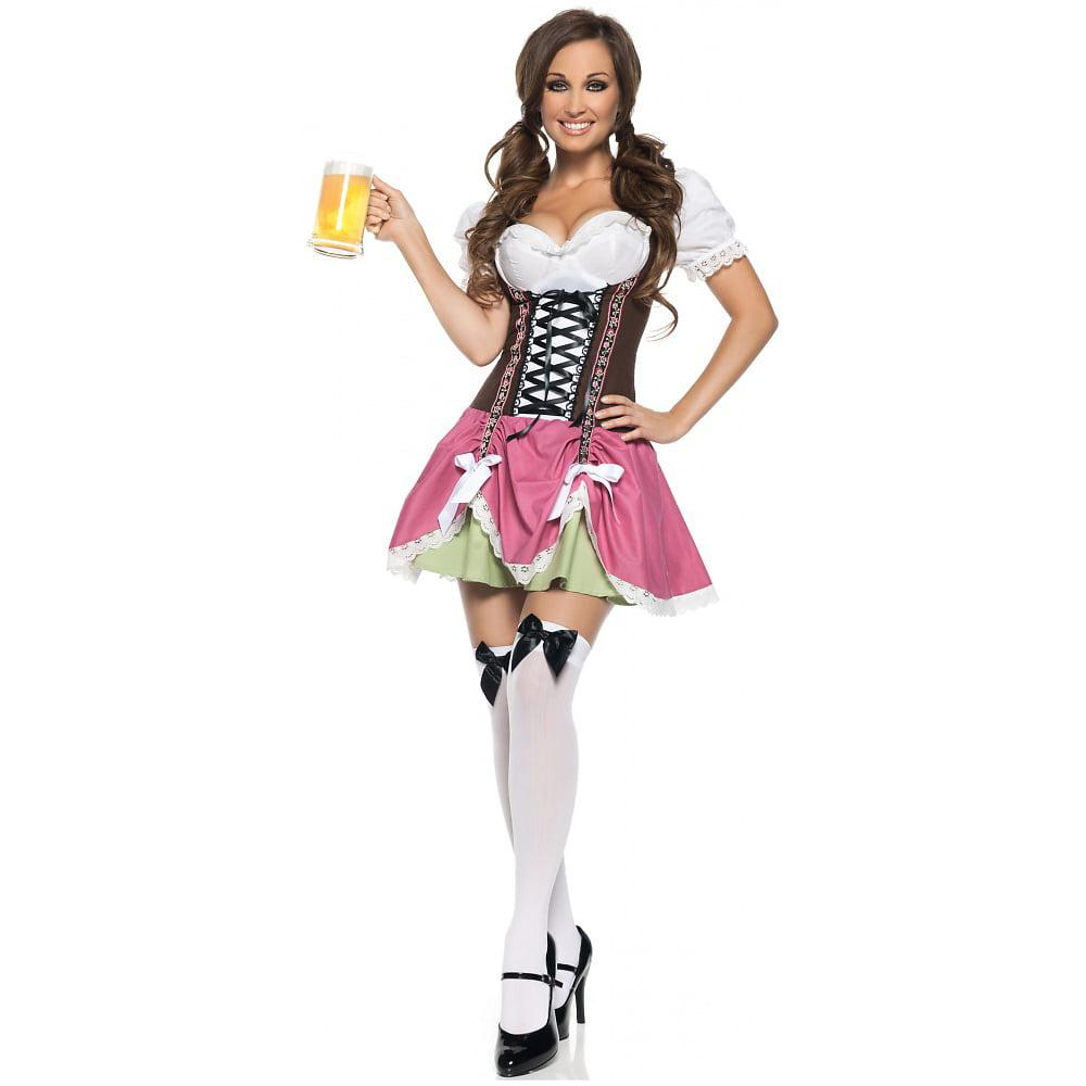 Swiss Girl Adult Costume - X-Large