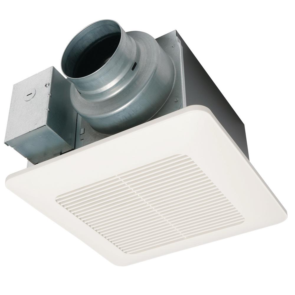 Panasonic WhisperCeiling® DC Precision Spot Ventilation Fan, 50-80-110 CFM FV0511VQ1