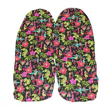 hawaiian car seat covers hawaii hula girls set of 2. Black Bedroom Furniture Sets. Home Design Ideas