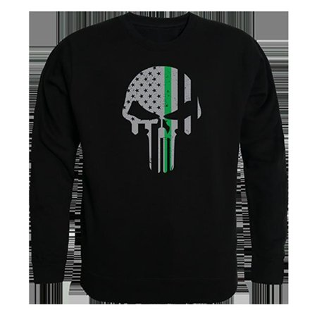 Rapid Dominance TS2-803-BLK-02 TGL Punisher Graphic Crew Neck Sweatshirt, Black - Medium - image 1 of 1