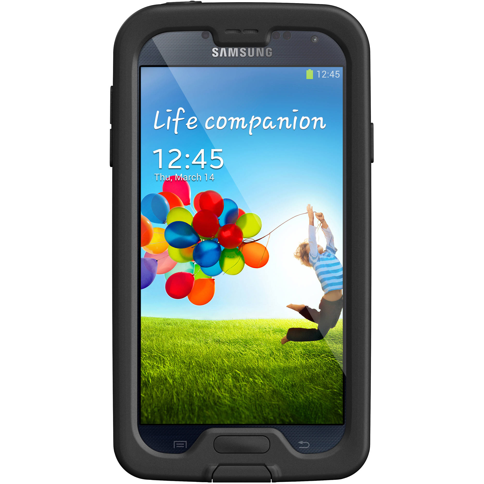 Galaxy S4  Lifeproof samsung case nuud series, black