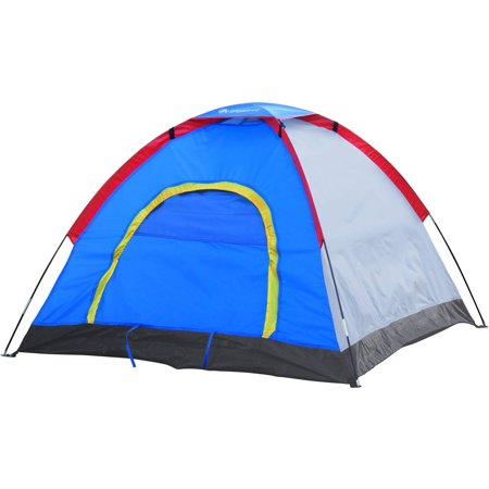 GigaTent 6′ X 5′ 2 Person Kids Dome Tent Removal Fly Easy Set Up