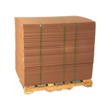 Box Packaging Corrugated Sheet, Kraft - 5/Bundle (Corrugated Polycarbonate Sheet)