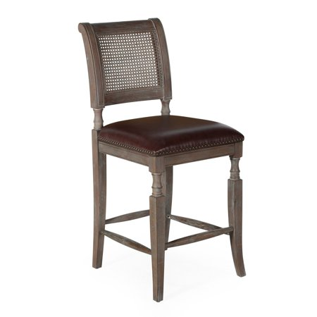 Belham Living 26 in. Preston Cane Back Counter Stool