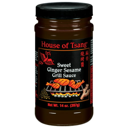 House Of Tsang Grill Sauce, Sweet Ginger Sesame, 14 OZ (Pack of (Ginger Grilling Sauce)