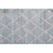 The Rug Market Diamond Pink Size 2.8' x 4.8' Area Rug