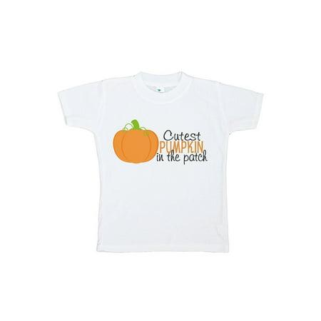 Custom Party Shop Kids Cutest Pumpkin Halloween Tshirt - 5/6T Tshirt