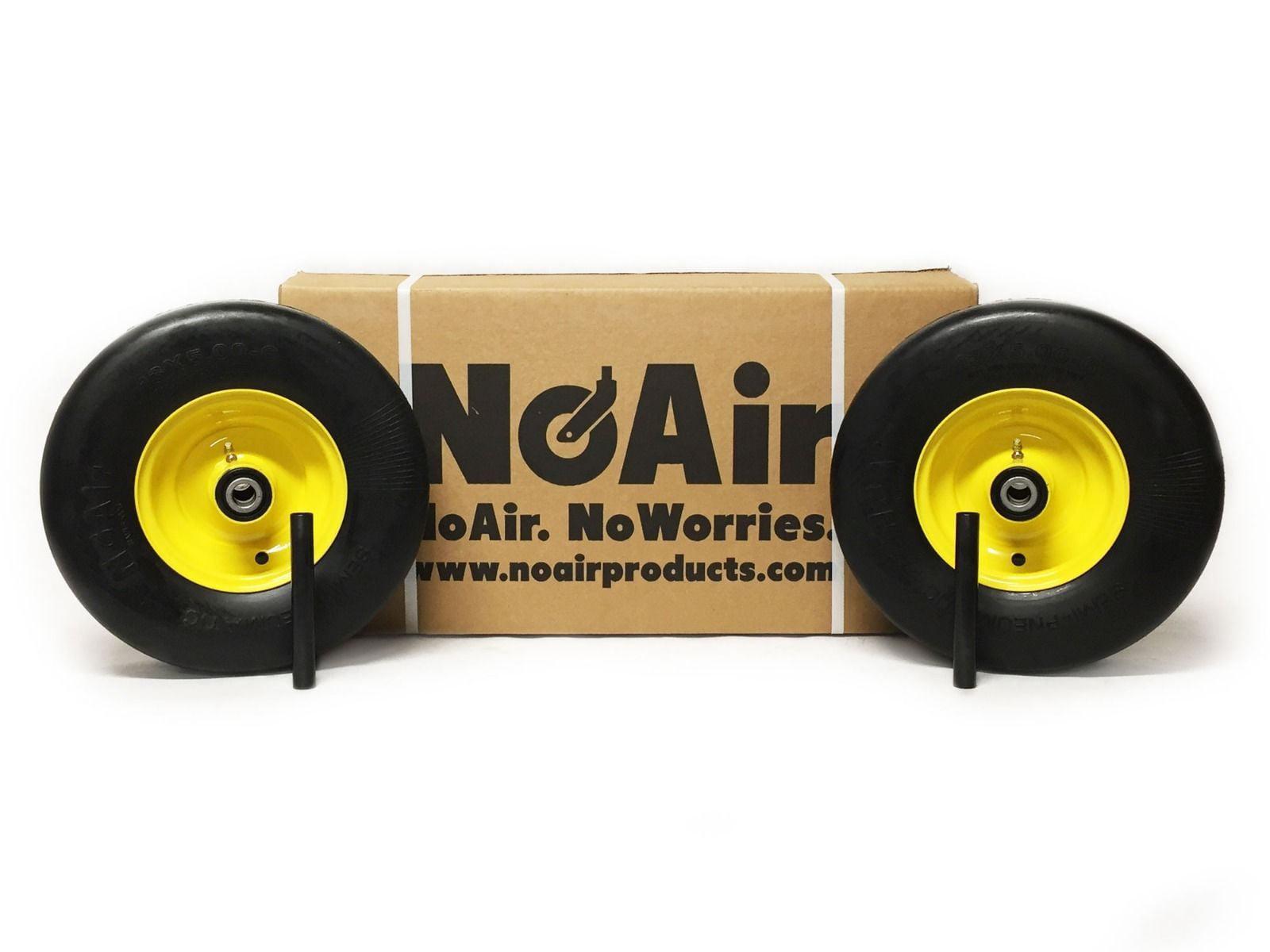 2 John Deere Pneumatic Wheel Assemblies 13x5.00-6 Replaces AM138762