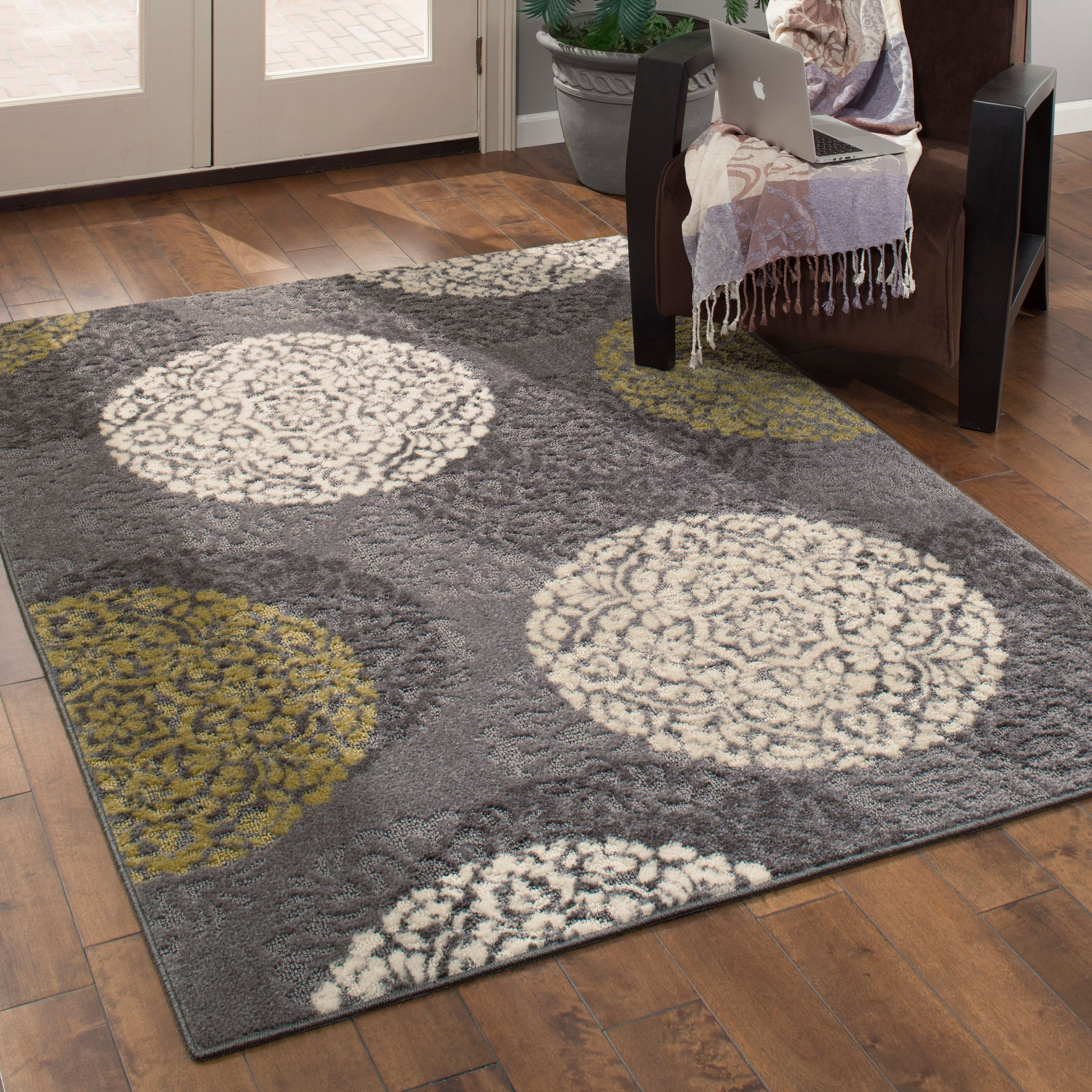 Better Homes and Gardens Overlapping Medallion Area Rugs or Runner