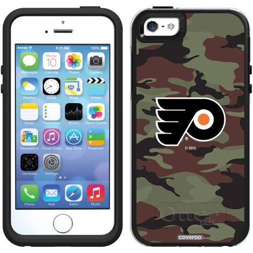 Philadelphia Flyers Traditional Camo Design on OtterBox Symmetry Series Case for Apple iPhone 5/5s