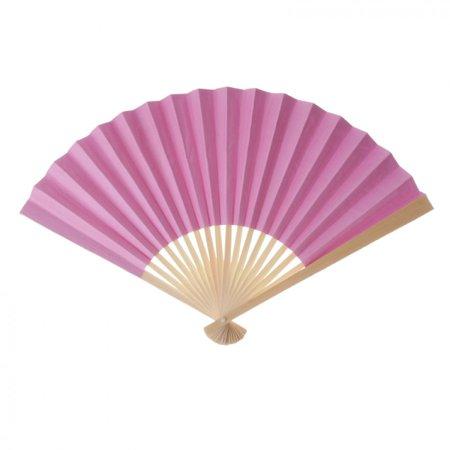 Paper Fans Bulk (Koyal Wholesale Decorative Paper Fans, Pink, Set of)