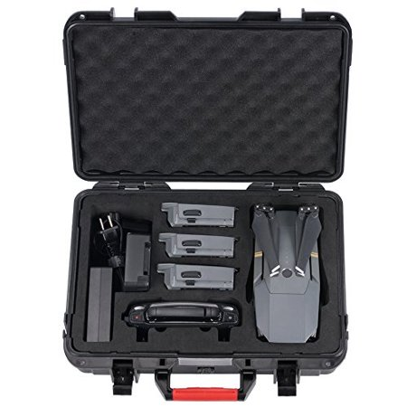hard carrying case for dji mavic pro/dji mavic pro platinum -waterproof storage suitcasenot for mavic 2 pro/mavic 2 zoom)