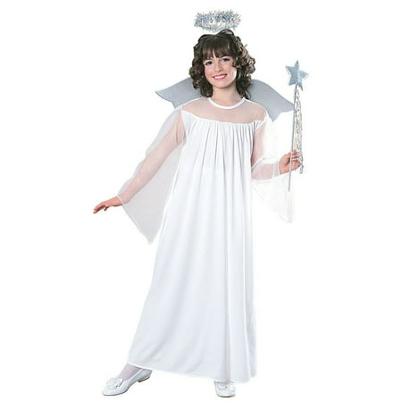 Girl's Heavenly Angel Costume - Bad Angel Costumes