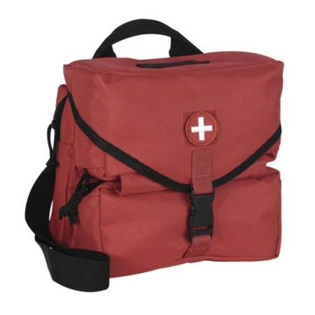 Voodoo Tactical Medical Supply Bag Empty, Red -
