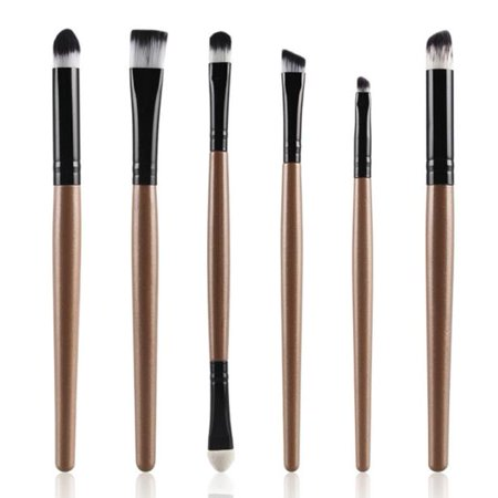 Women's Cosmetic Makeup Brush Lip Makeup Brush Eyeshadow Brush 6PCS - Pink Face Makeup For Halloween