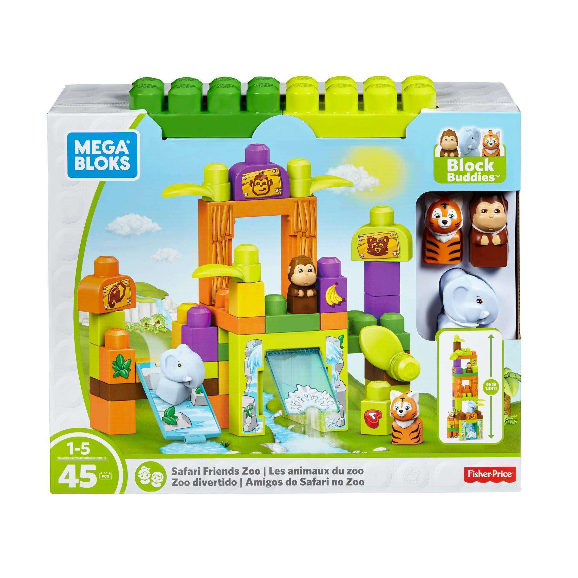 Mega Bloks Storytelling Safari Friends Zoo by Mega Brands, Inc.