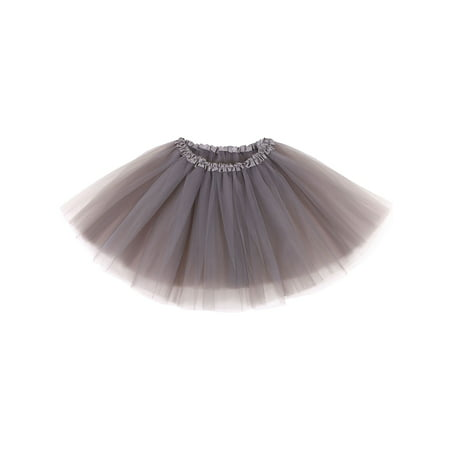 Women's Ballet Warrior 5K, 10K Fun Dash Run Adult Tutu Skirt,Sliver Grey - Make An Adult Tutu