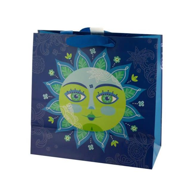 27 lbs, Decorative Sun Square Gift Bag - Large - image 1 de 1