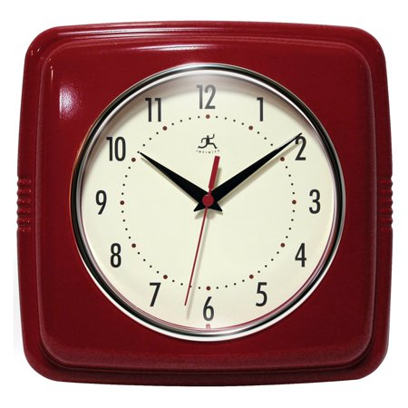 Infinity Instruments 9 Square Retro 9W x 9H in. Wall Clock](Cloak Lord Of The Rings)