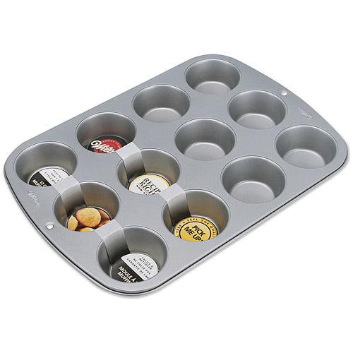 Wilton Recipe Right 12-Cavity Standard Muffin Pan 2105-954