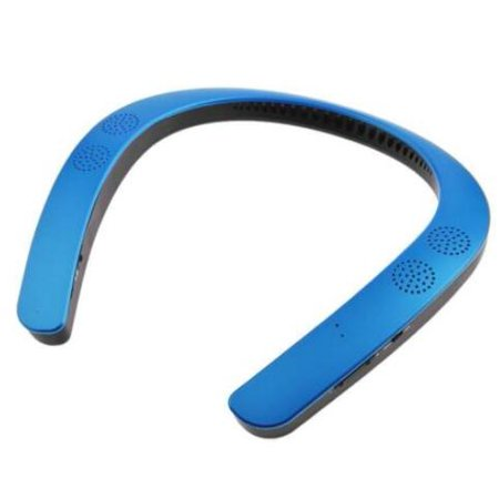 Wireless Neckband Headphones Bluetooth Earbuds Neckband Wearable Stereo Earphones Bluetooth Speaker MP3 Palyer Headset