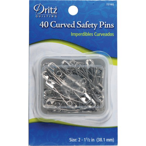 "Dritz ""curved Safety Pins"