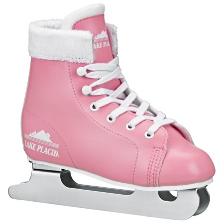 Leather Lined Girls Figure Skates - STARGLIDE Girl\'s Double Runner Figure Ice Skate