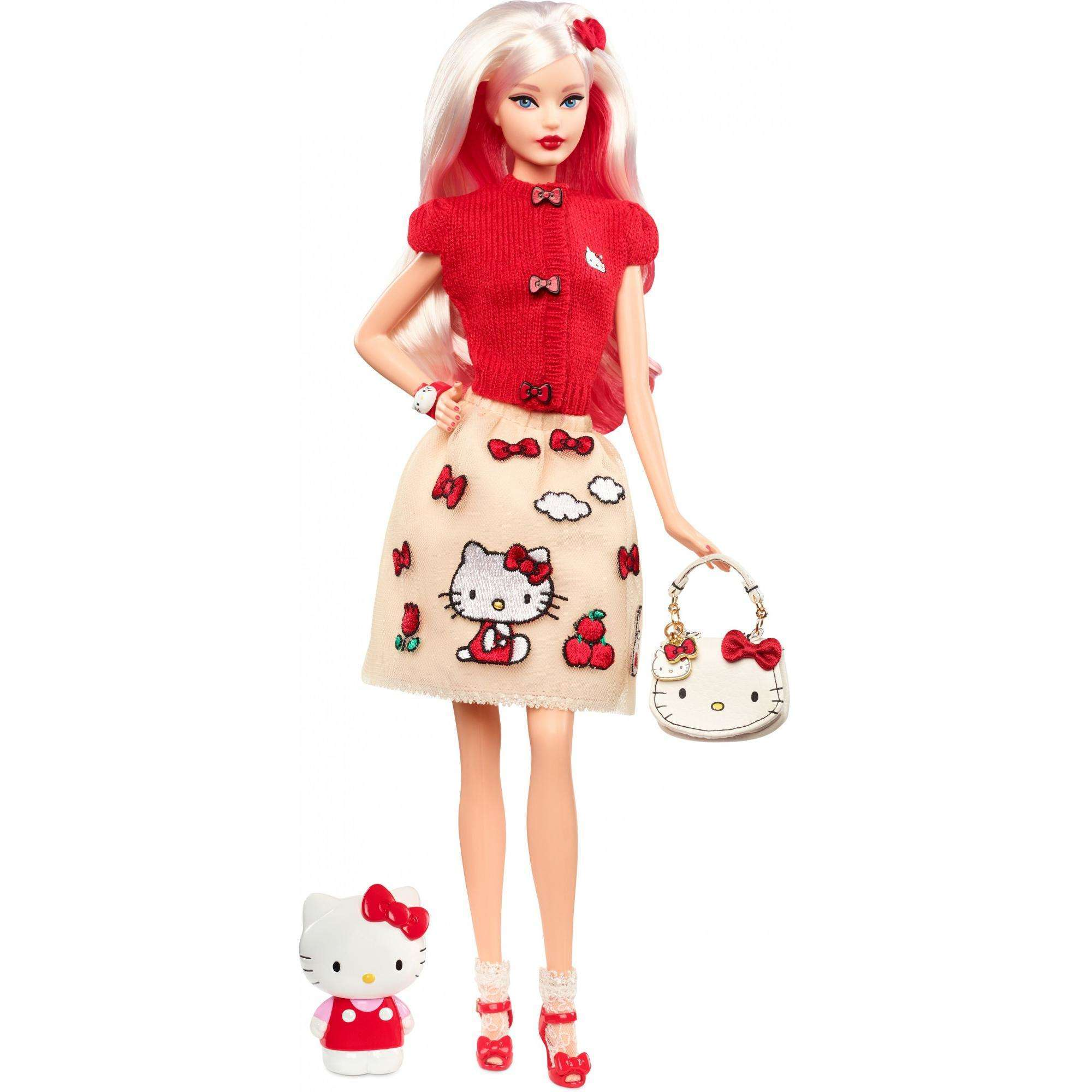 Barbie Hello Kitty Icon Fashion Dress Doll with Stand by Mattel