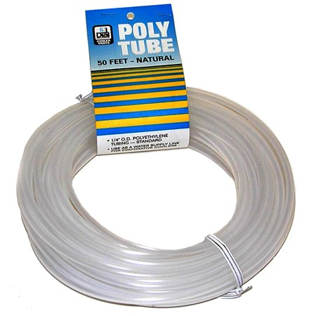 Dial Manufacturing 4294 1/4 X 50' Natural Poly Tubing