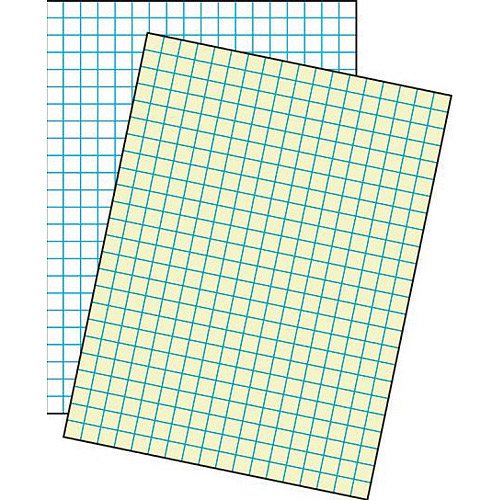 "School Smart Cross Ruled Drawing Paper, 9"" x 12"", 500 Sheets"