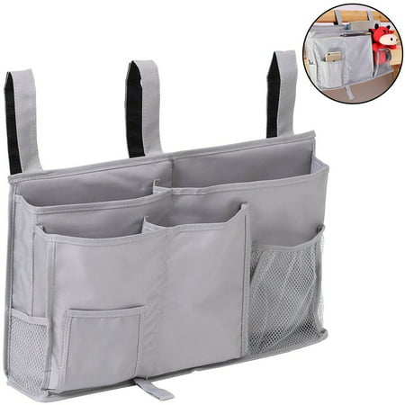 BeautyTale Bedside Caddy, 8 Pockets Hanging Storage Bag Organizer Holder for Bunk Dorm Rooms & Hospital Bed (Dorm Girl.com)