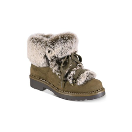 ESPRIT Womens cameron-e Faux Fur Closed Toe Ankle Cold Weather - image 2 of 2