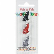 Buttons Galore PPB2-124 Pets & Pals - Tabby