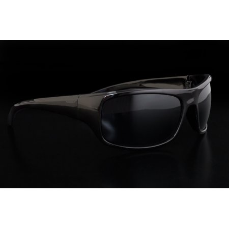 Wrap Around Sunglasses (Men's Sport Gloss & Matte Wrap Around Frames Sunglasses, Black, One-Size, 2 Pack )