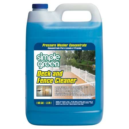 Clean Deck - SIMPLE GREEN Deck and Fence Cleaner,1 gal. 2310000418200