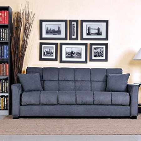 Baja Convert A Couch And Sofa Bed Multiple Colors Charcoal