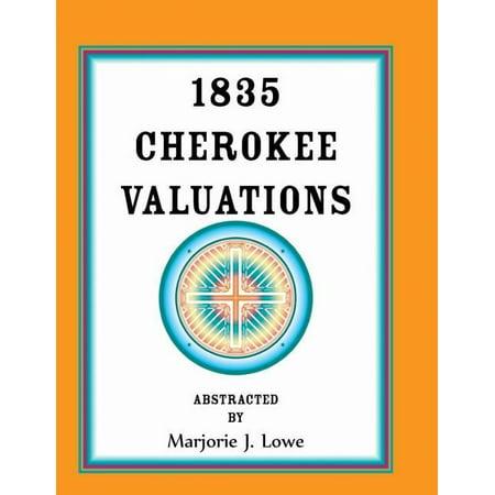 1835 Cherokee Valuations - image 1 de 1