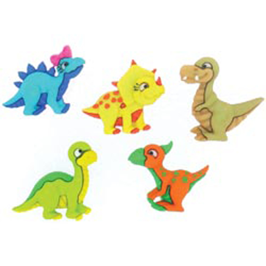 DRESS IT UP Buttons Dino-mite 7675 Dinosaurs Embellishments Dinosaur