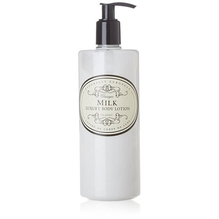 - naturally european milk luxury body lotion, 500 ml / 17 oz