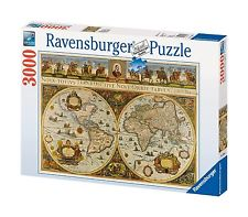 Ravensburger World Map, 1665 3000 Piece Puzzle by