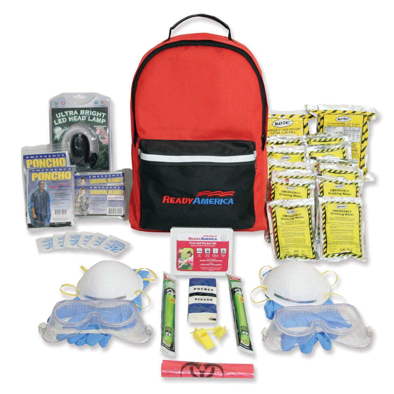 Ready America Emergency Grab 'n' Go 2-Person Fire Blackout Kit by Ready America