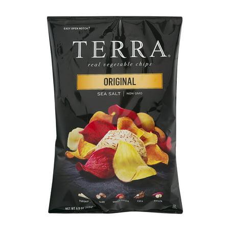 Terra Real Vegetable Chips Original Sea Salt  6 8 Oz