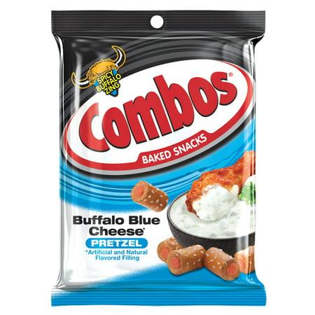 Buffalo Combo - Combos Buffalo Blue Cheese Pretzel Baked Snacks, 6.3 Oz.