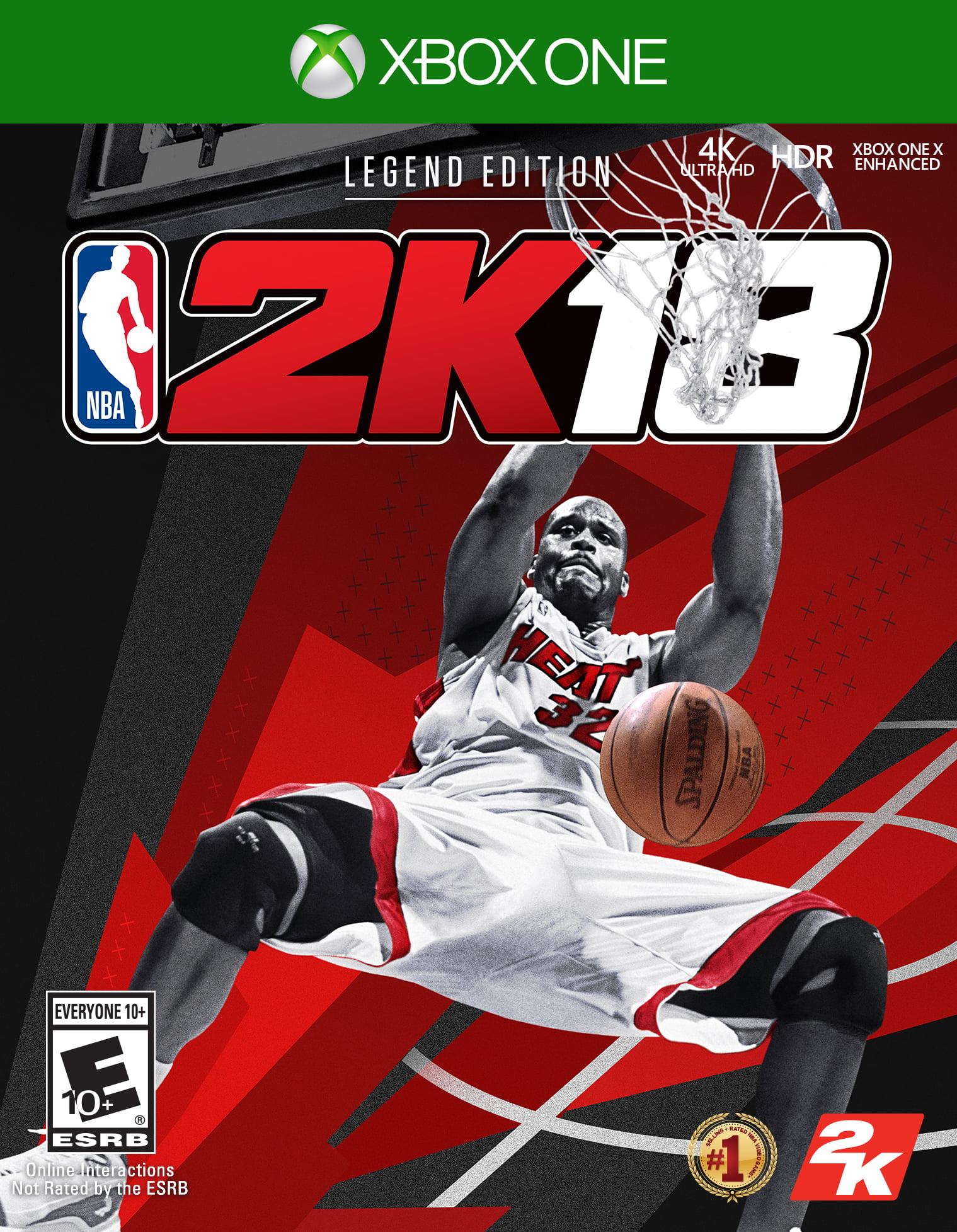 NBA 2K18 Legend Edition, 2K, Xbox One, 710425499135 by 2K