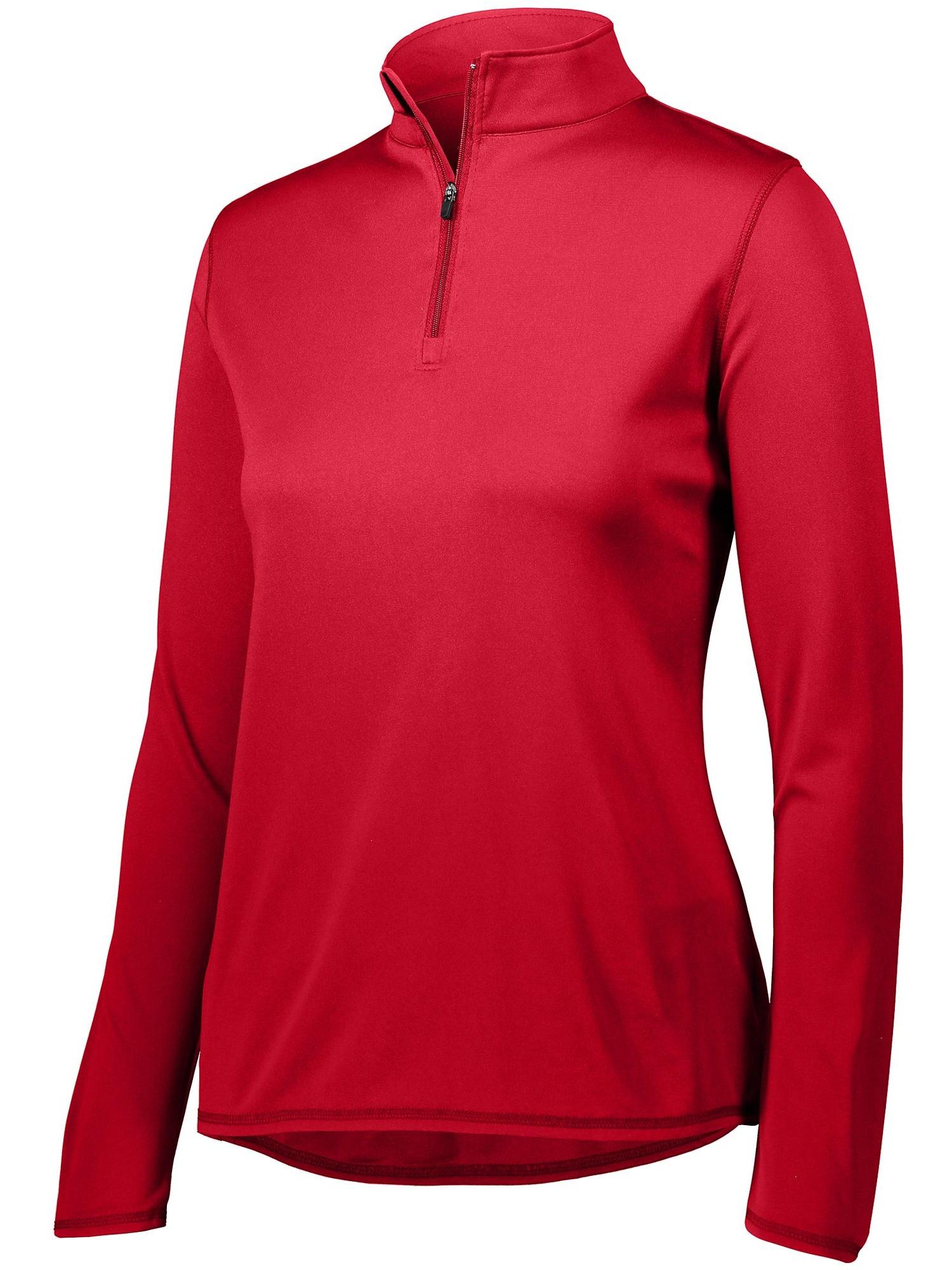 Augusta Sportswear Women's Attain 1 4 Zip Pullover 2787 by Augusta Drop Ship