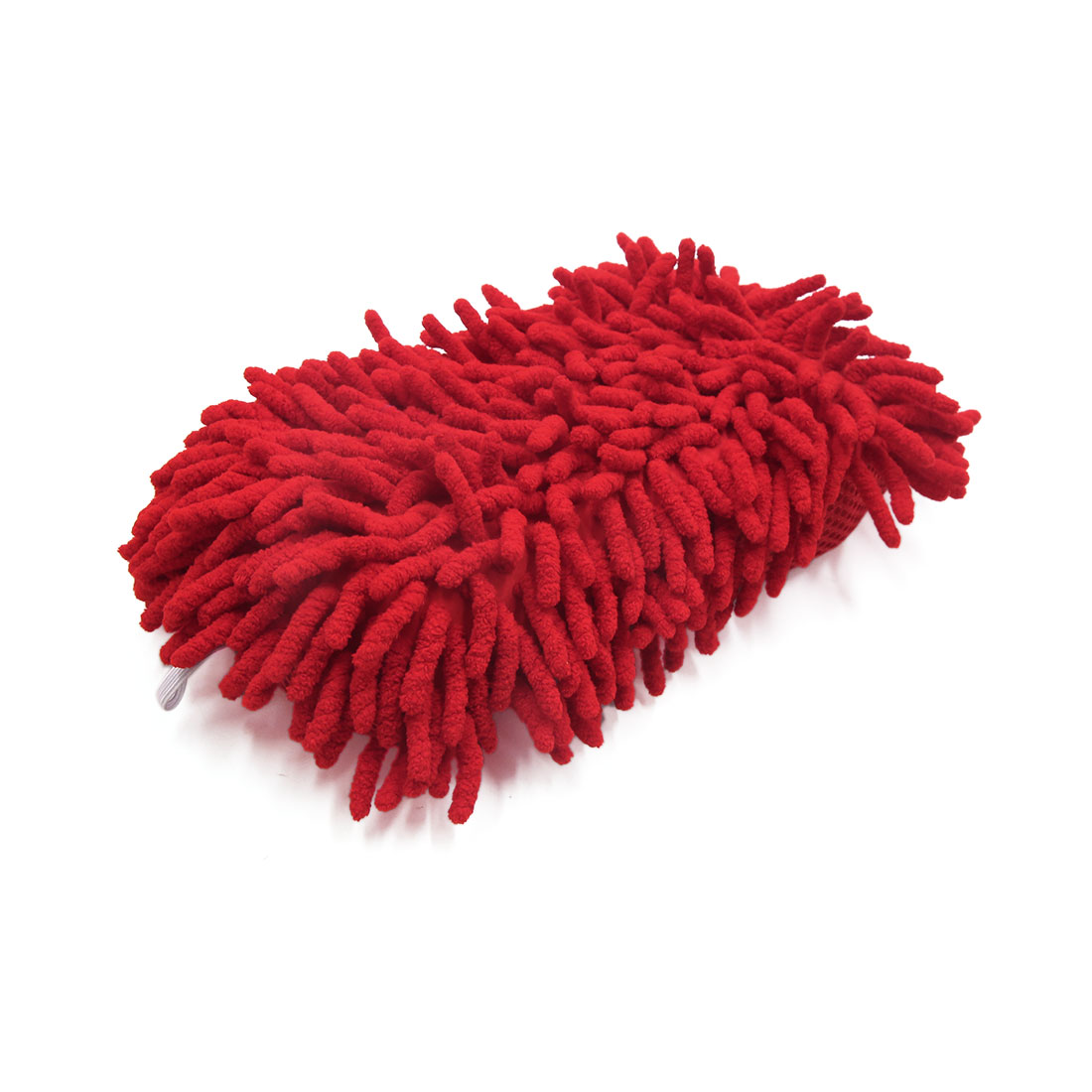 Red Microfiber Chenille 8 Shape Washing Brush Sponge Pad ...