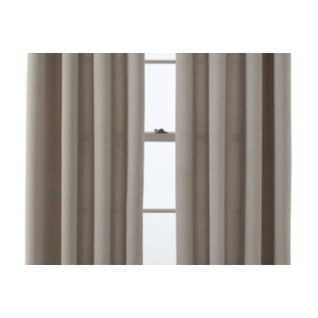 Studio JCPenney Home Arista Sheer Grommet Top Single Curtain Panel, Porcelain Sand Studio JCPenney Home Arista Sheer Grommet Top Single Curtain Panel, Porcelain Sand New product. May come in original retail box or non-retail packaging (white/clear bag). Box may show wear. Studio Arista Grommet-Top Curtain panel The Studio Arista grommet-top curtainpanel will make a dramatic statement in any room.Easy Care100% PolyesterSheerMachine WashImported