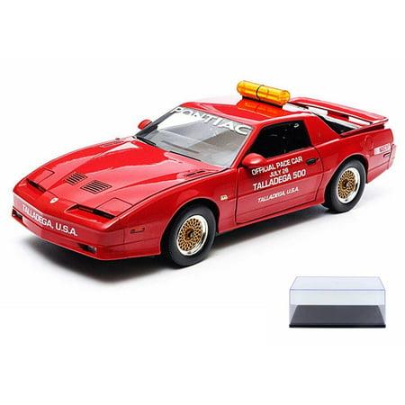 Diecast Car & Display Case Package - 1987 Pontiac GTA, Talladega 500 Pace Car, Red - Greenlight Nascar 12859 - 1/18 Scale Diecast Model Toy Car w/Display Case](Gta 5 Halloween Cars Price)
