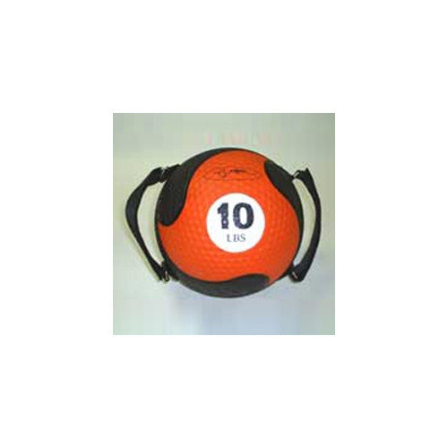 FitBall Medballs With Straps 9'' in Orange